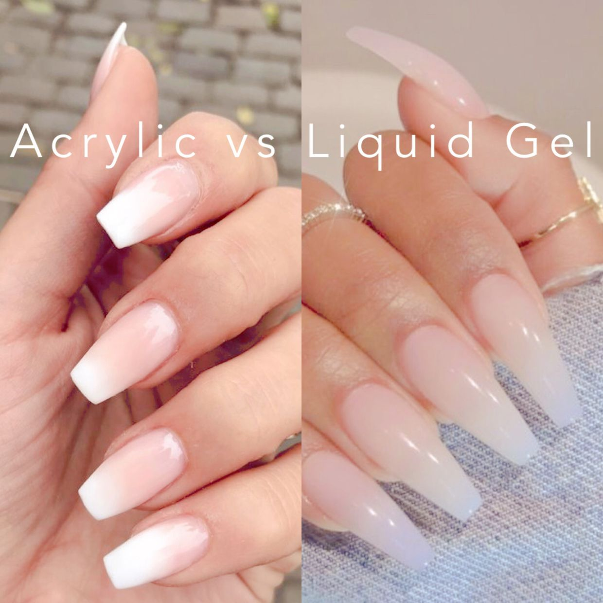 Difference between gel and acrylic nails   Nail salon 12
