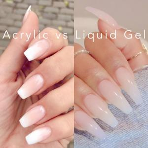 Difference between gel and acrylic nails | Nail salon 62704